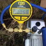 Nøyaktig vakumering er viktig for kompressorens levetid.